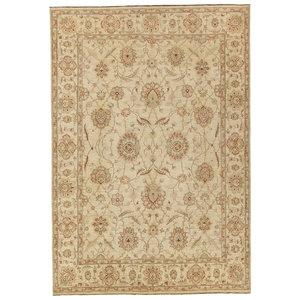 Farahan Oushak Hand knotted 9'8x7'9 ziegler rug  farahan Wool Rug 300x243 cm