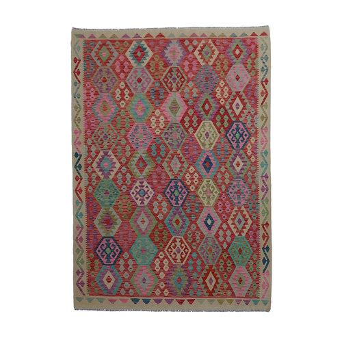 exclusive Kelim Teppich 292x212 cm afghan kilim teppich