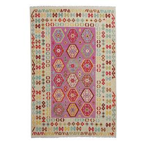 exclusive Kelim Teppich 293x198 cm afghan kilim teppich