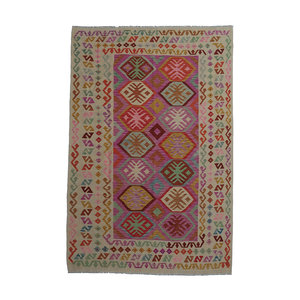 exclusive Kelim Teppich 297x192 cm afghan kilim teppich