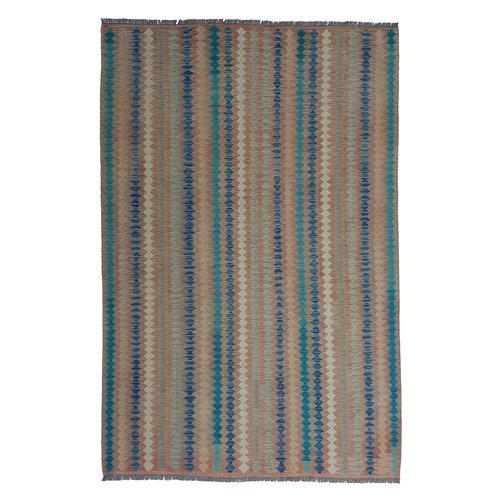 exclusive Kelim Teppich 294x199 cm afghan kilim teppich