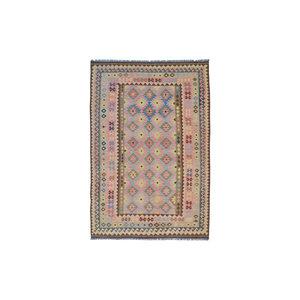 Hand woven 10 x 6'6 Kilim Wool Rug 306x200 cm  Oriental Carpet