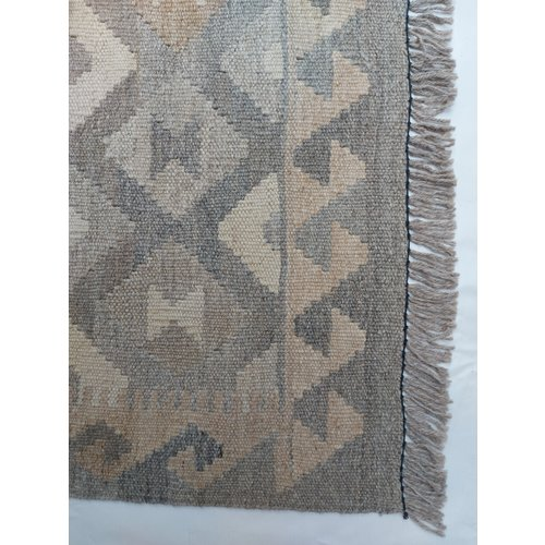 exclusive  Vloerkleed Tapijt Kelim 289x194 cm Kleed Hand Geweven Kilim