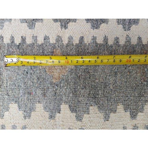 exclusive  Vloerkleed Tapijt Kelim 294x211 cm Kleed Hand Geweven Kilim