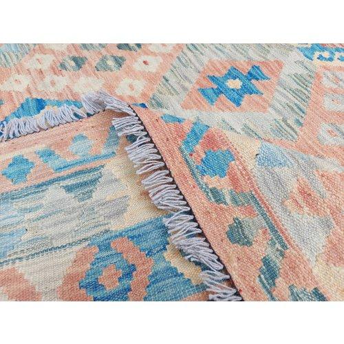 exclusive Kelim Teppich 307x211 cm afghan kilim teppich