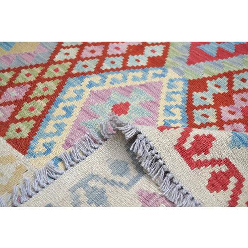 207X160 cm Kelim Kleed  Vloerkleed Tapijt Kelim Hand Geweven