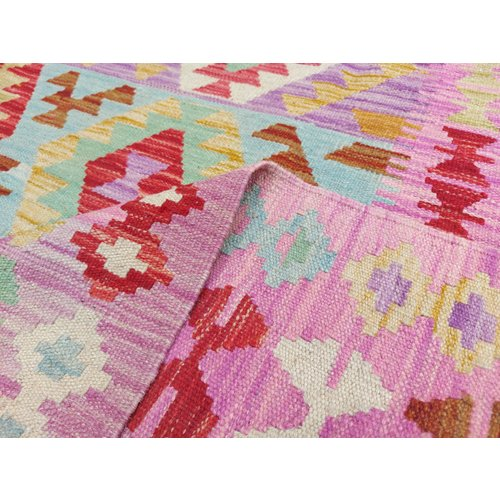 exclusive Kelim Teppich 296x203 cm afghan kilim teppich