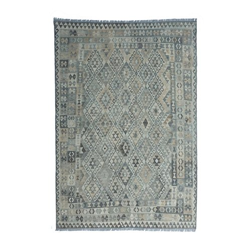 exclusive  Vloerkleed Tapijt Kelim 285x205 cm Kleed Hand Geweven Kilim