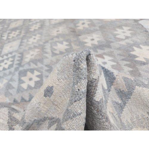 exclusive  Vloerkleed Tapijt Kelim 289x200 cm Kleed Hand Geweven Kilim