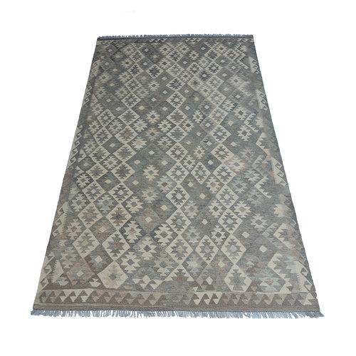 9'42x6'73 Sheep Wool Handwoven Natural Traditional Afghan kilim Area Rug