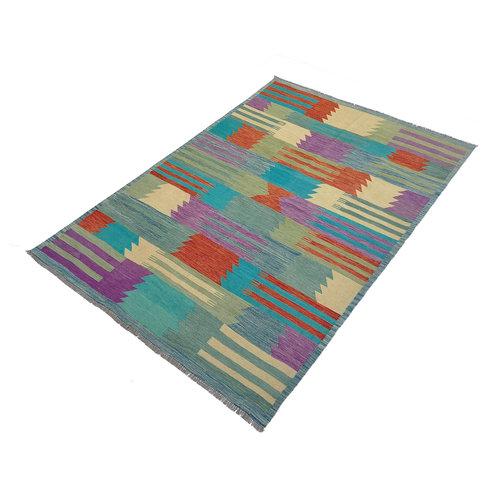 exclusive Kelim Teppich 288x204 cm afghan kilim teppich