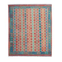 exclusive Kelim Teppich  293 x 249 cm afghan kilim teppich