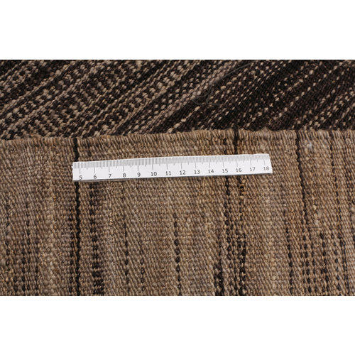 Moderne  Vloerkleed Tapijt Kelim 284x240cm Kleed Hand Geweven Kilim