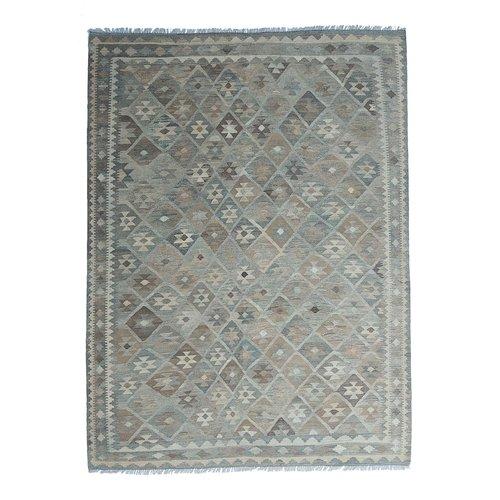 9'61x6'68 Sheep Wool Handwoven Natural Traditional Afghan kilim Area Rug
