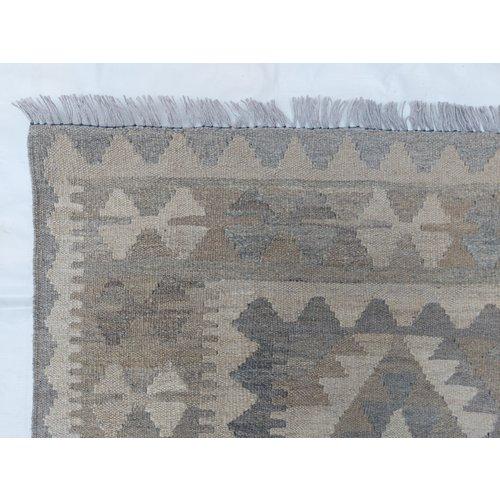 exclusive  Vloerkleed Tapijt Kelim 297x202 cm Kleed Hand Geweven Kilim