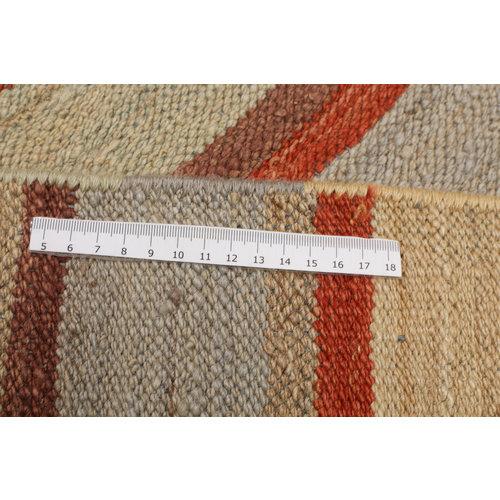 Modern Kelim Teppich  307x249cm afghan kilim teppich