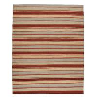 Moderne  Vloerkleed Tapijt Kelim  307x249cm Kleed Hand Geweven Kilim
