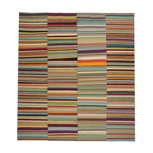 Moderne  Vloerkleed Tapijt Kelim 286x265cm Kleed Hand Geweven Kilim