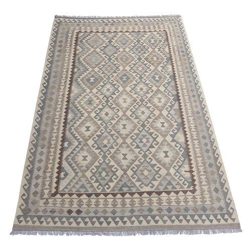 10'34x6'56 Sheep Wool Handwoven Natural Traditional Afghan kilim Area Rug