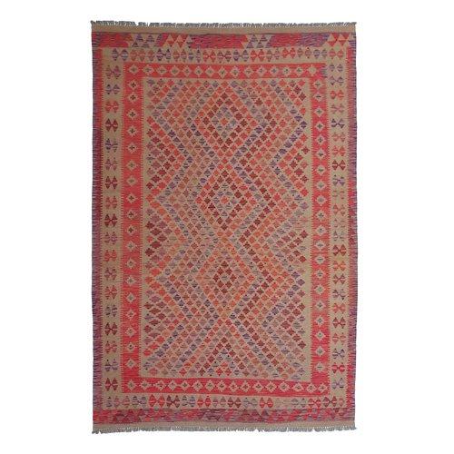 exclusive Kelim Teppich 309x206 cm afghan kilim teppich