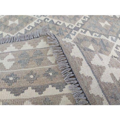 9'94x6'66 Sheep Wool Handwoven Natural Traditional Afghan kilim Area Rug