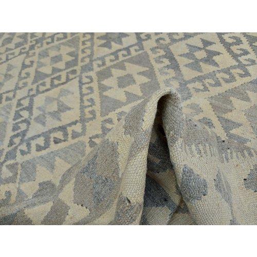 exclusive  Vloerkleed Tapijt Kelim -296x197 cm Kleed Hand Geweven Kilim
