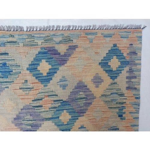 exclusive Kelim Teppich 302x201 cm afghan kilim teppich