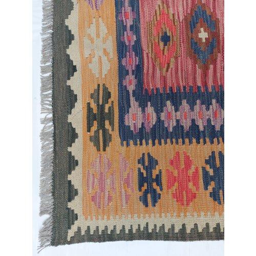 exclusive Kelim Teppich 297x201 cm afghan kilim teppich