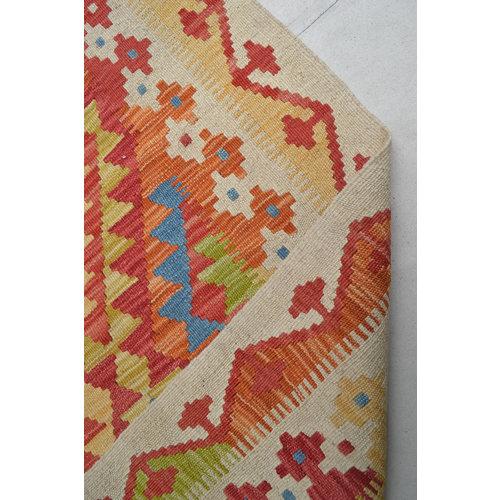 Kelim Teppich 198x150 cm afghan kelim teppich