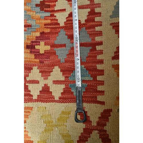 Ghazny  Quality Wool Hand woven 200x148 cm Afghan kilim Carpet Kilim Rug 6'5X4'8 ft