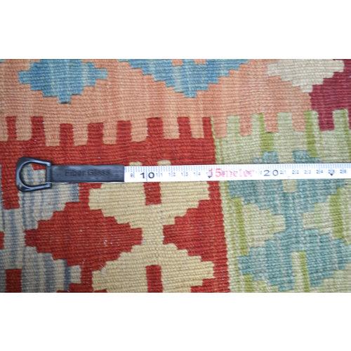 Kelim Kleed 195X152   cm Vloerkleed Tapijt Kelims Hand Geweven