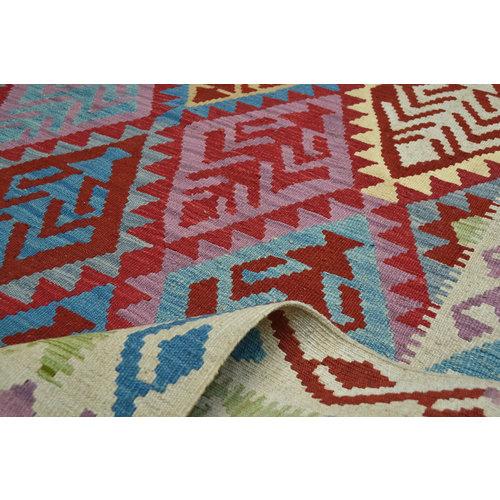 Kelim Teppich  202x147 cm afghan kelim teppich