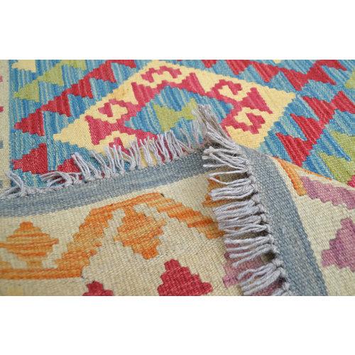 High Quality Wool Hand woven 200x149 cm Afghan kilim Carpet Kilim Rug 6'5X4'8ft