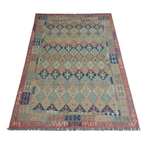 exclusive Kelim Teppich 297x205 cm afghan kilim teppich