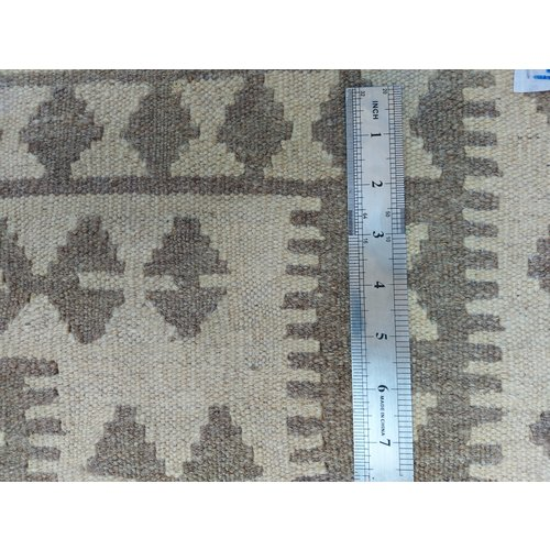 8'43x5'61 Sheep Wool Handwoven Natural Traditional Afghan kilim Area Rug