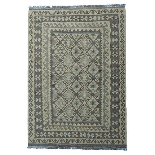 exclusive Kelim Teppich 249x179 cm afghan kilim teppich
