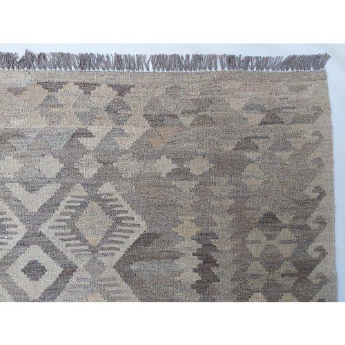 9'65x6'56 Sheep Wool Handwoven Natural Traditional Afghan kilim Area Rug