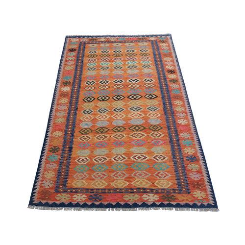 exclusive Mehrfarbig  Kelim Teppich 300x200 cm afghan kilim teppich