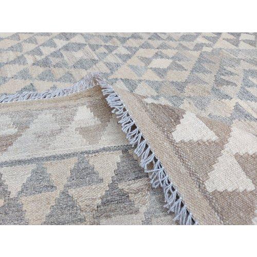 8'20x5'97 Sheep Wool Handwoven Natural Traditional Afghan kilim Area Rug