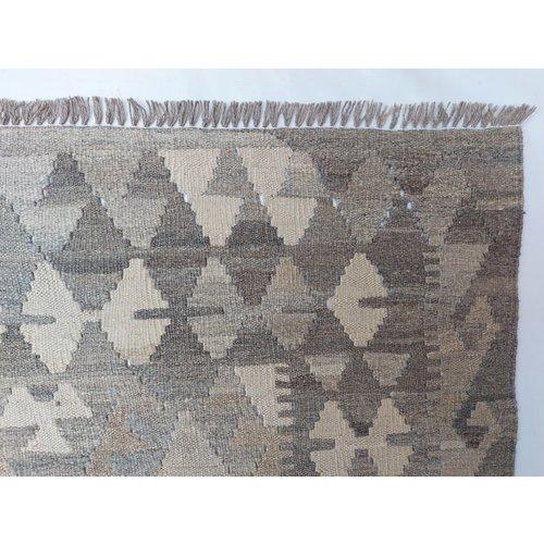 9'58x6'69 Sheep Wool Handwoven Natural Traditional Afghan kilim Area Rug