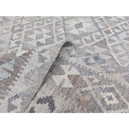 9'25x6'73 Sheep Wool Handwoven Natural Traditional Afghan kilim Area Rug
