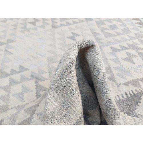 exclusive  Vloerkleed Tapijt Kelim 303x200 cm Natural Kleed Hand Geweven Kilim