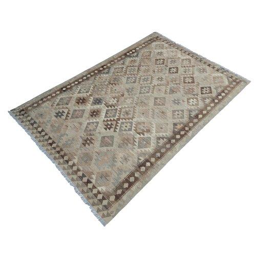 exclusive Kelim Teppich 303x200 cm Natural afghan kilim teppich