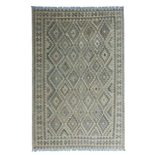 exclusive  Vloerkleed Tapijt Kelim 297x201 cm Natural Kleed Hand Geweven Kilim