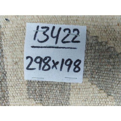 9'78x6'50 Sheep Wool Handwoven Natural Traditional Afghan kilim Area Rug