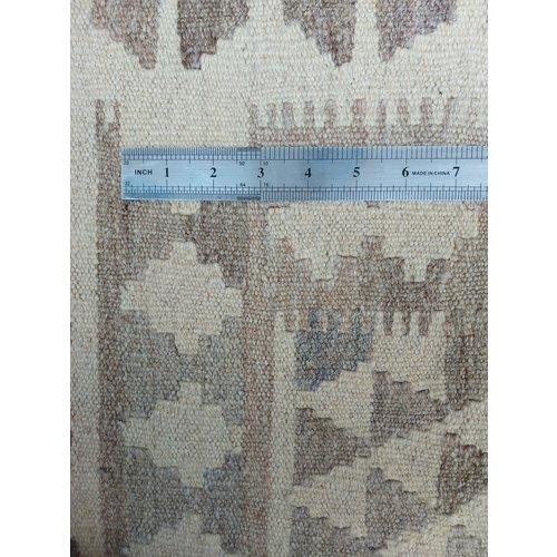 9'61x6'43 Sheep Wool Handwoven Natural Traditional Afghan kilim Area Rug