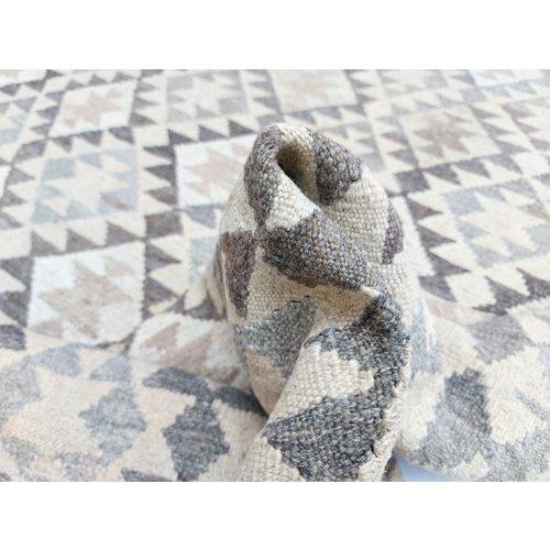 9'45x6'80 Sheep Wool Handwoven Natural Traditional Afghan kilim Area Rug