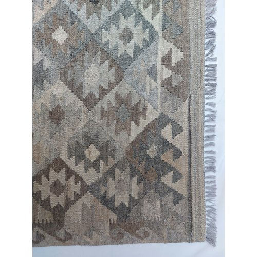 9'84x6'63 Sheep Wool Handwoven Natural Traditional Afghan kilim Area Rug - Copy