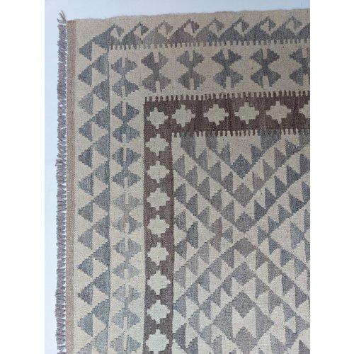 exclusive Kelim Teppich 286x201 cm Natural afghan kilim teppich