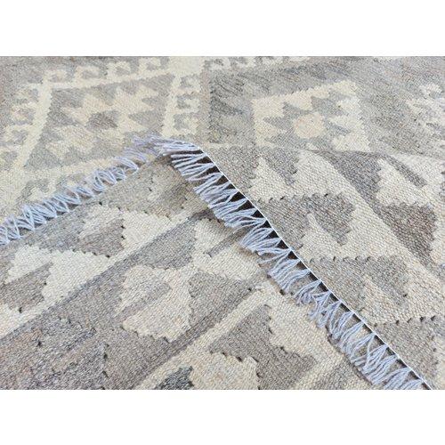exclusive Kelim Teppich 301x198 cm Natural afghan kilim teppich